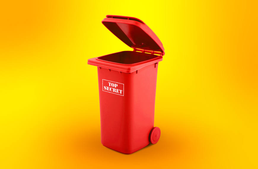 Como descartar o lixo corporativo de maneira adequada